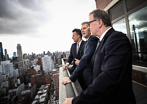 Der Finanzplatz Österreich präsentiert sich in New York