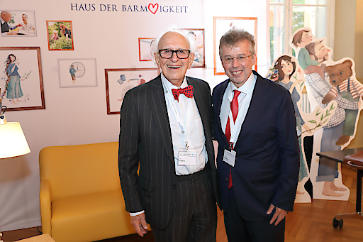 https://www.apa-fotoservice.at/galerie/18395 Im Bild: Nobelpreisträger Eric Kandel (Keynote Speaker) und Univ.-Prof. Dr. Christoph Gisinger (Institutsdirektor Haus der Barmherzigkeit und Kongresspräsident Geriatriekongress)
