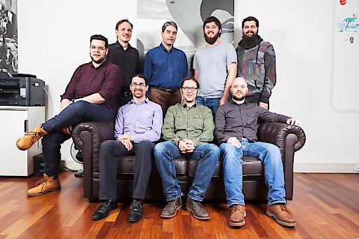 Teamfoto Splash Awards Gewinner drunomics GmbH