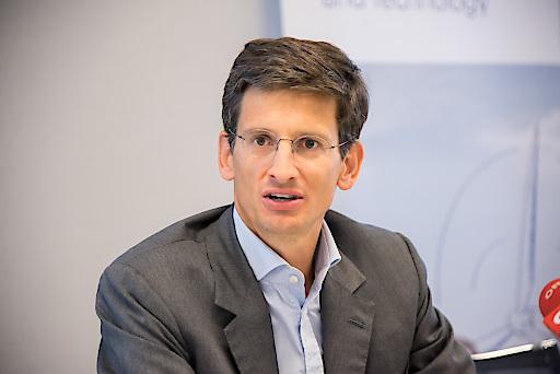 Im Bild: Miba CEO F. Peter Mitterbauer