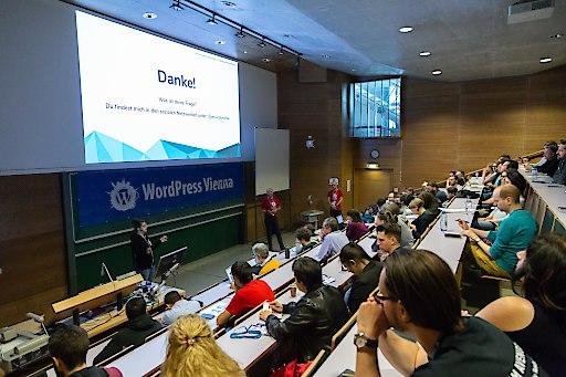 Vorträge am WordCamp Vienna 2019