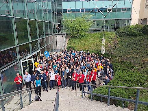 Gruppenbild des WordCamp Vienna 2019