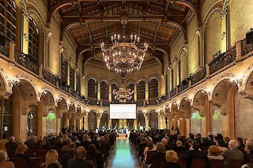 rund 250 Gäste beim PremiQaMed Symposium 'Neue Medizin' im Palais Ferstel