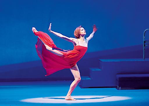 """Rebecca Horner als Potiphars Weib in """"Josephs Legende"""" von Richard Strauss Choreografie: John Neumeier"""
