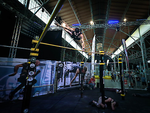 Action und Shows beim Bodyweight-Day