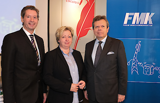 Jahres-PK FMK: Österreichs Mobilfunknetzbetreiber starten mit soliden Kennzahlen ins 5G-Zeitalter