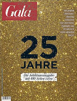 Happy Birthday! - GALA feiert 25-jähriges Jubiläum (FOTO)