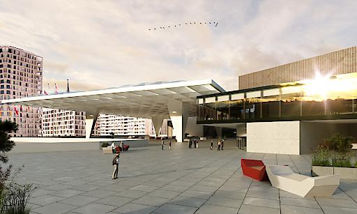 Das donauSEGEL ist das größte Modernisierungsprojekt des Austria Center Vienna.