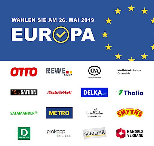 EU Wahl 2019. Geben Sie Europa bei der Wahl am 26. Mai 2019 Ihre Stimme!