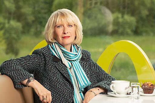 Isabelle Kuster, Managing Director von McDonald's Österreich