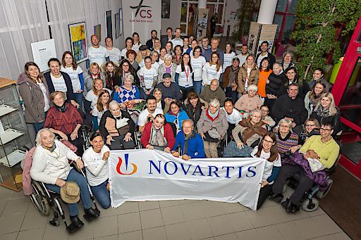 Strahlende Gesichter beim Novartis Community Partnership Day 2019