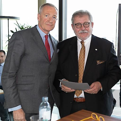 v.l.n.r. Andreas G. Gressenbauer (Vizepräsident Immobilienring Österreich) und Franz Stiller (Stiller&Hohla Immobilientreuhänder)