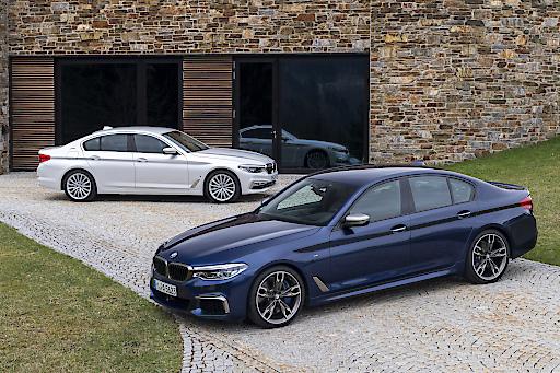 BMW M550i xDrive and BMW 530e iPerformance
