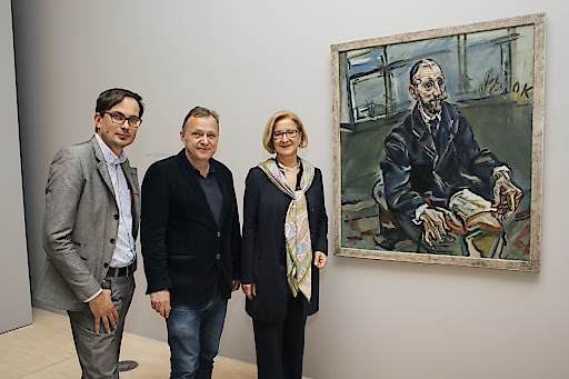 Pressefoto zur Pressekonferenz zum Grand Opening der Landesgalerie Niederösterreich