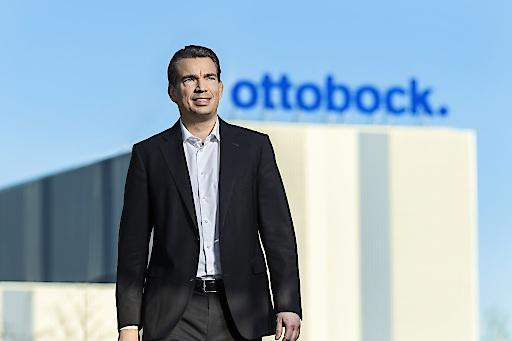 """Ottobock CEO und CFO Philipp Schulte-Noelle. Weiterer Text über ots und www.presseportal.de/nr/32079 / Die Verwendung dieses Bildes ist für redaktionelle Zwecke honorarfrei. Veröffentlichung bitte unter Quellenangabe: """"obs/Ottobock/Marco Moog"""""""