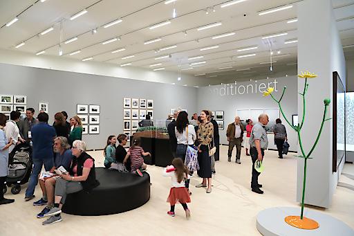 Großer Besucher-Andrang in den Ausstellungen am Eröffnungswochenende