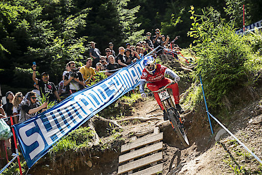 Mercedes-Benz UCI Mountainbike Downhill Worldcup Leogang