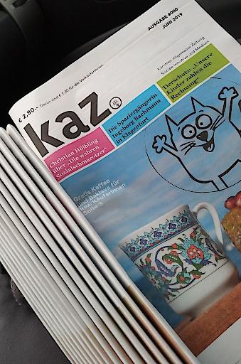 Die neue Kärntner Straßenzeitung.