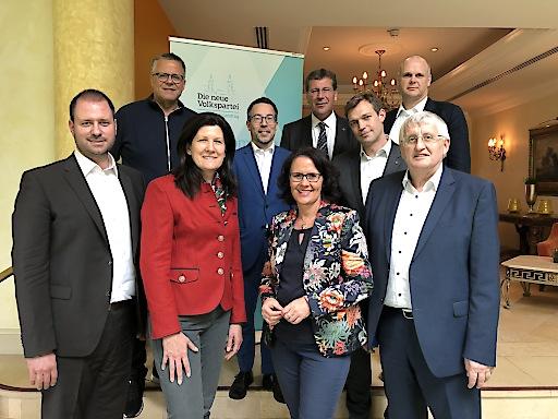 Die ÖVP-Klubobleute der Bundesländer bei ihrer heutigen Tagung am Wörthersee