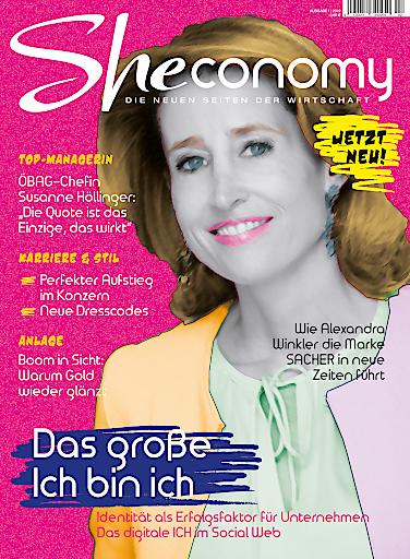 Cover SHEconomy, seit 31.5.19 am Kiosk