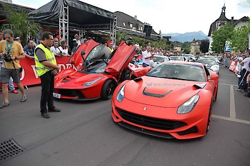Sportwagenfestival in Velden am Wörthersee