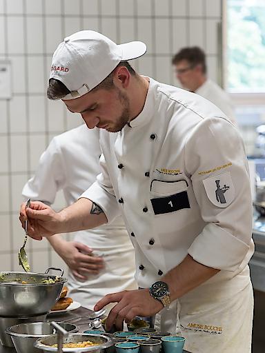 Sieger bei der Zubereitung vom Wiener-Gastro Burger 2019