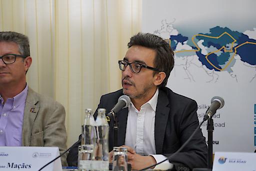 Bruno Maçães über die Zukunft Eurasiens und die EUROPE GOES SILK ROAD Initiative.