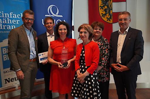 Sieger des Gesundheitspreises 2019 sind die Geschützten Werkstätten – Integrative Betriebe Salzburg GmbH.