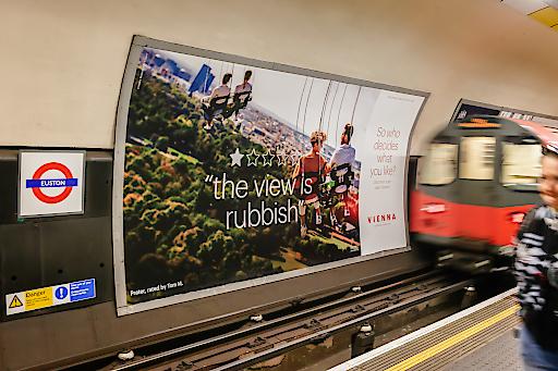 Kampagnen-Motiv in London