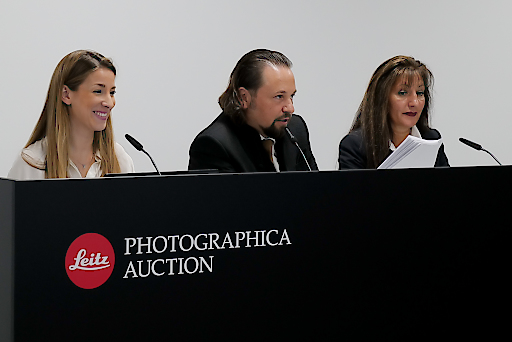 Leitz Photographica Auction mit Auktionator Wolfgang Pauritsch