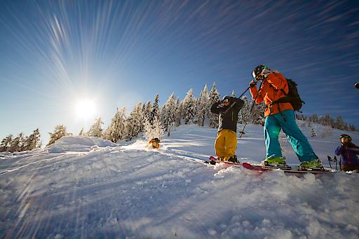Winterzeit am Sportberg Goldeck