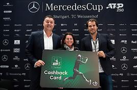 Die Cashback World präsentiert das Tennis Cashback Programm