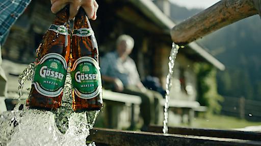 Bestes Bier bedingt Wasser von höchster Qualität.