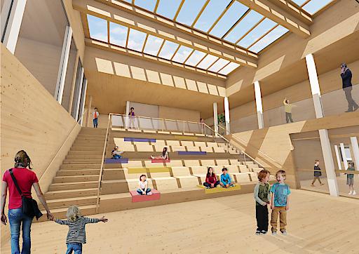 Der neue International Campus Vienna bietet ab Herbst 2019 architektonisch und pädagogisch optimale Rahmenbedingungen für erfolgreiches Lernen.