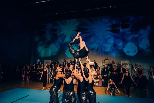 Magic Acrobatics Show Act