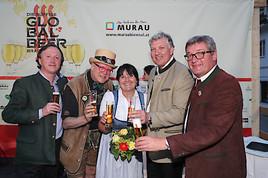 Das Kulturfestival MURAUBIENNAL GLOBAL BEER ist eröffnet