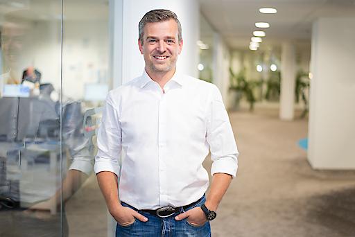 Markus Zink leitet den Job-Bereich von willhaben.