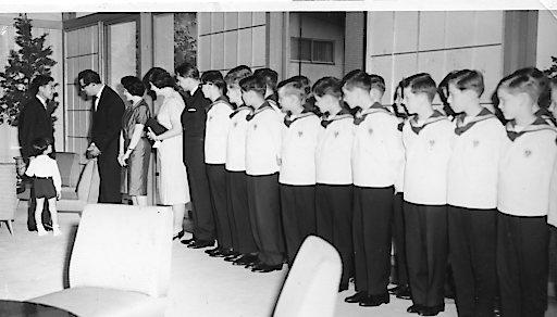 5.6.1964, Empfang beim japanischen Kronprinzen