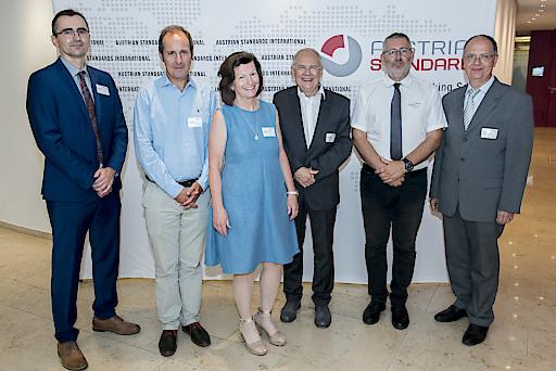 Gastgeber und Vortragende des Summit Research, Innovation and Standardization 2019 am 13. Juni 2019 in Wien