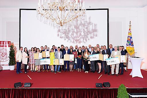 Das sind die Sieger, auf die Wien baut (Platz 1 - 3 & Sonderpreis)