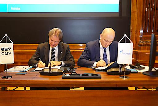 OMV und Gazprom erweitern Kooperation im Bereich Wissenschaft und Technologie