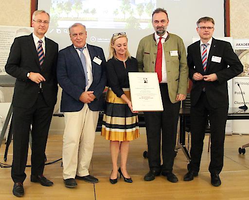 Auszeichnung des österr. Hayek Instituts durch die deutsche Hayek Gesellschaft