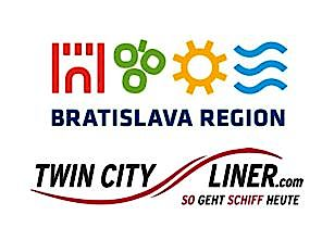 Logos Bratislava Region und Twin City Liner