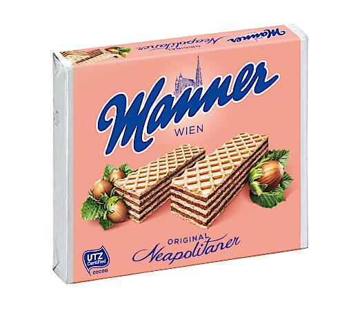 Der Süßwarenklassiker aus Wien - in allen 50 Exportländern mit gleicher Rezeptur und Qualität