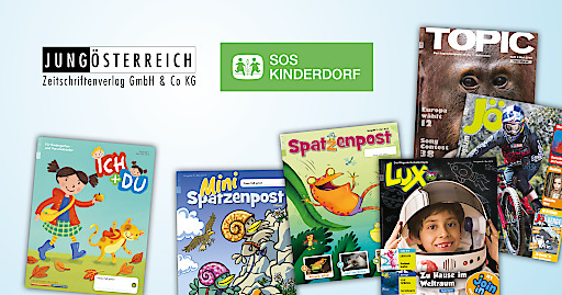 Formate von JUNGÖSTERREICH in zukünftiger Partnerschaft mit SOS-Kinderdorf