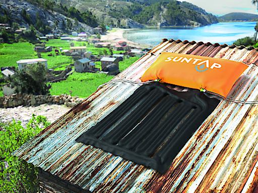 Suntap - der weltweit günstigste solare Warmwasseraufbereiter