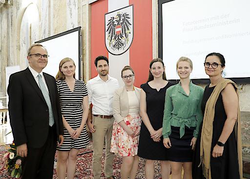 Sozialpolitischer Wissenschaftspreis des Sozialministeriums für vier junge Akademikerinnen und Akademiker