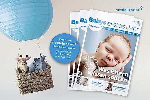 100-Seiten-Sondermagazin von netdoktor.at