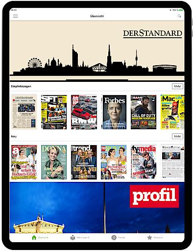 """read-it holt Tageszeitung """"DER STANDARD"""" an Bord"""