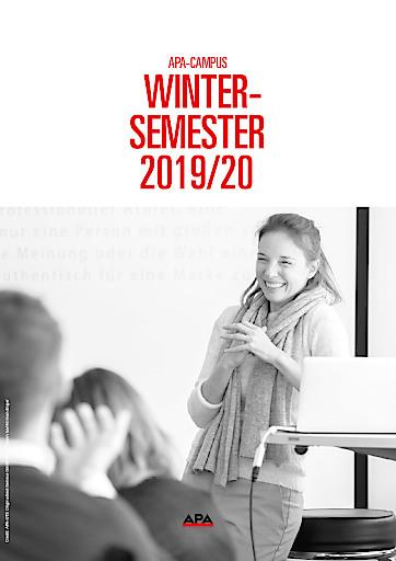 Neue Themen, neues Wissen: Das APA-Campus-Wintersemester 2019/20
